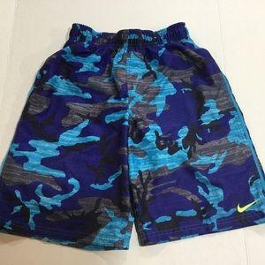 Nike Boys Blue Swim Suit Size L